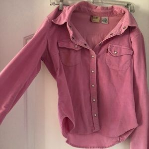 Cute pink light jean jacket! Great for summer 2018